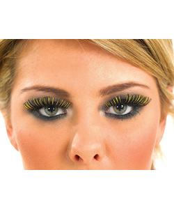 Black and Gold Eyelashes